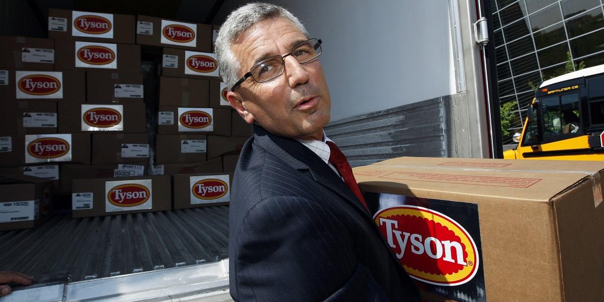 , свинобойня, США, коронавирусTyson Foods Inc