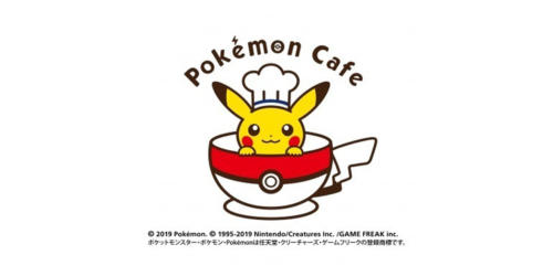 Pokemon Cafe,Япония